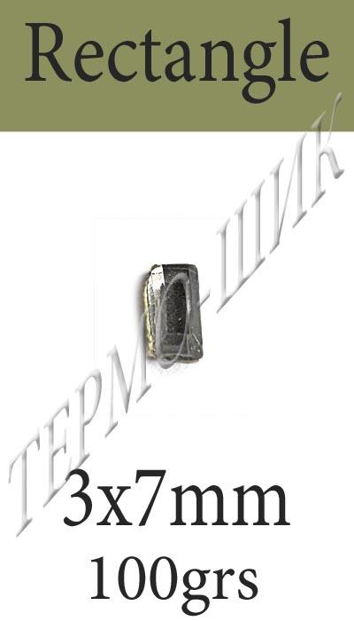 страз rectangle - 3х7мм